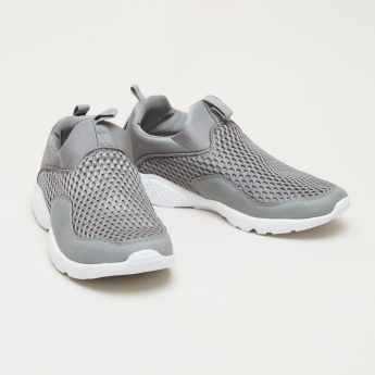 Women's Textured Slip On Walking Shoes