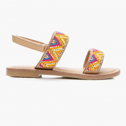 Little Missy Beaded Sandals