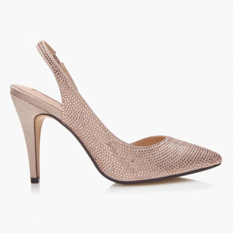 Celeste Sling Back Heel Shoes