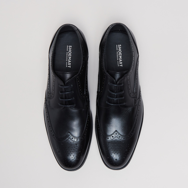 Perforated Brogue Shoes
