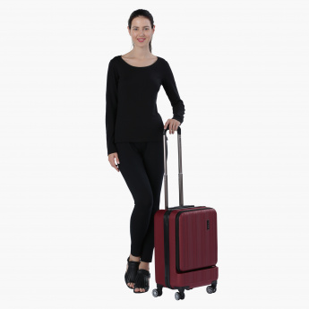 Duchini Trolley Bag with Four Wheels