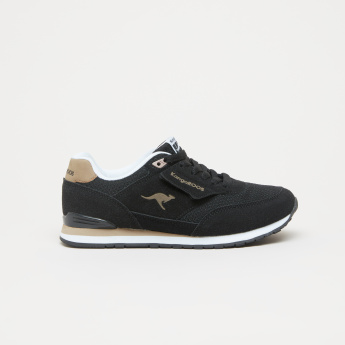 KangaROOS Textured Sneakers with Lace Closure