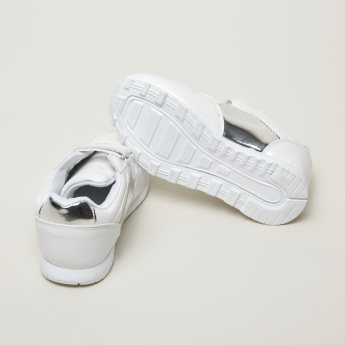 Juniors Sneakers with Hook and Loop Closure