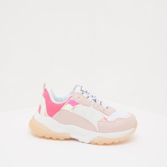 Kappa Low Ankle Sneakers with Lace-Up Closure