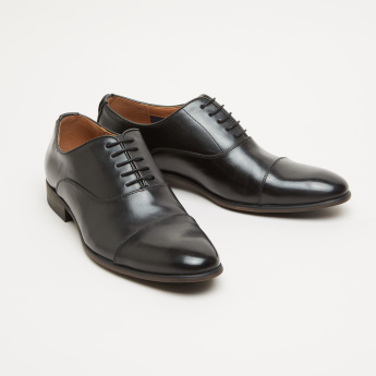 Derby Shoes with Lace Closure