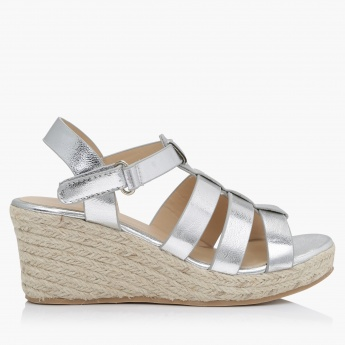 Little Missy Strappy Wedge Sandals
