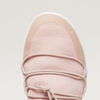 FitFlop Slip-On Sneakers with Drawstring Detail