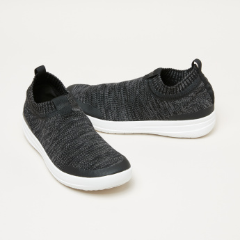 FitFlop Women's Textured Slip On Walking Shoes