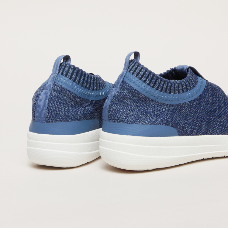 FitFlop Textured Slip-On Sneakers