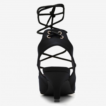 Missy Mid Heel Lace-Up Shoe