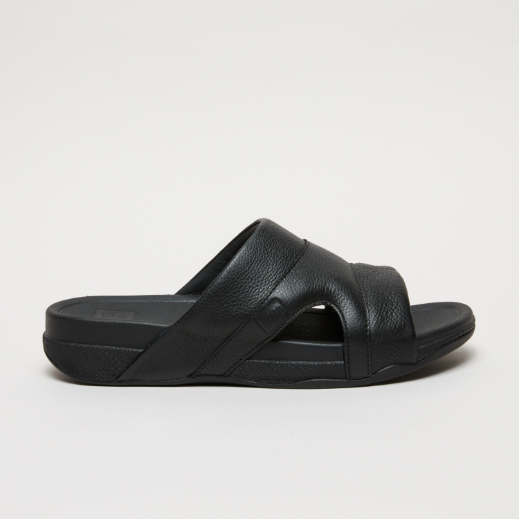 FitFlop Textured Arabic Sandals with Cut Out Sides