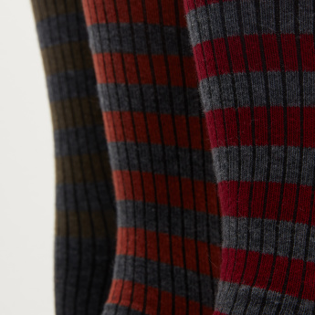 Duchini Striped Socks - Set of 3