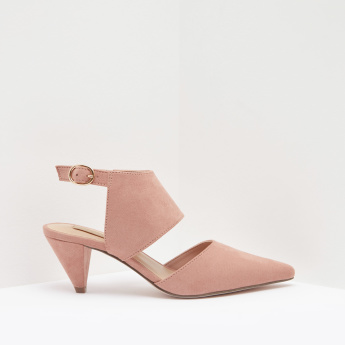 Ankle Strap Cone Shaped Heels