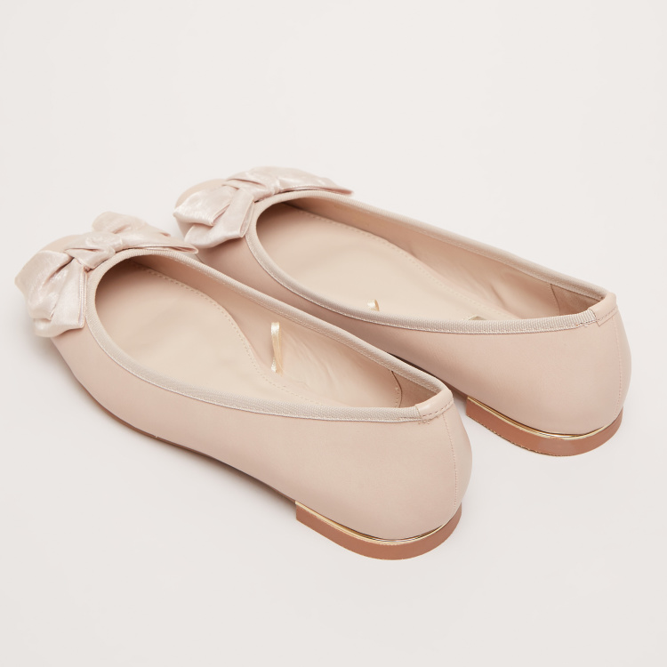 Bow Detail Ballerina Shoes