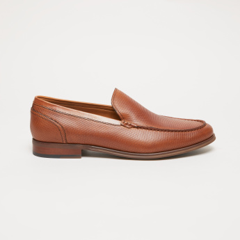 Textured Sip-On Loafers