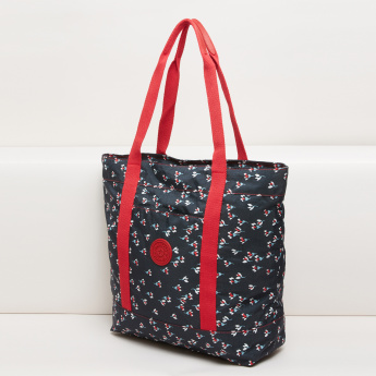 Mindesa Printed Tote Bag with Twin Handles