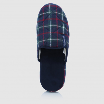 De Fonseca Chequered Bedroom Slippers