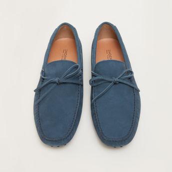 Tassel Applique Detail Moccasins