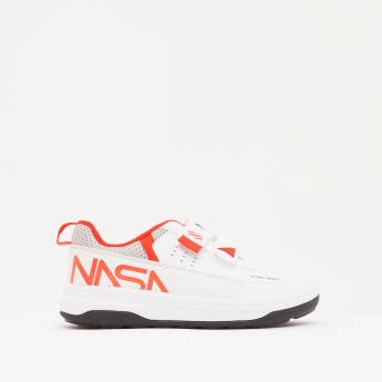 NASA Boys' Walking Shoes with Hook and Loop Closure