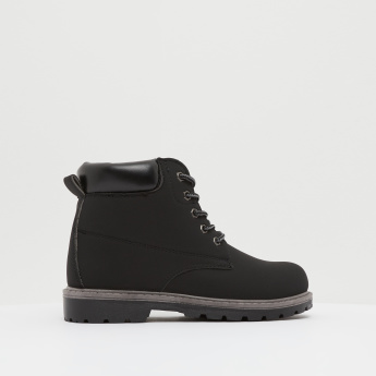 High Cut Chukka Boots