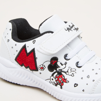 Minnie Mouse Printed Sneakers