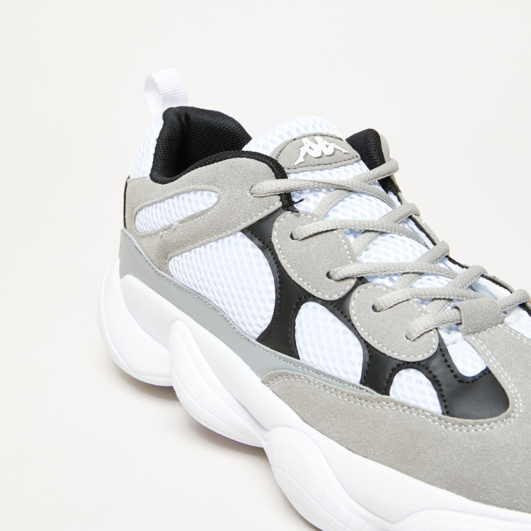 Kappa Abstract Patterned Running Lace-Up Shoes