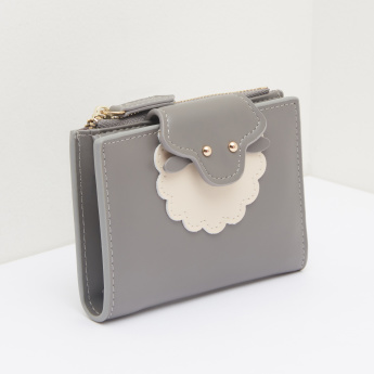 Missy Small Bi-Fold Wallet with Flap Closure
