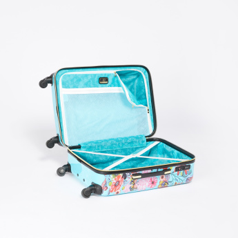 Mia Toro Printed 360 Spinner Hard Case Trolley Bag