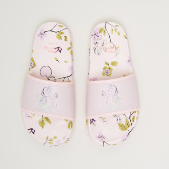Princess Floral Printed Slides