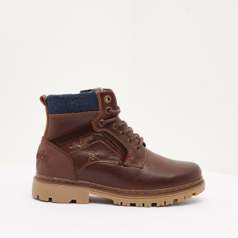 Lee Cooper Boys' Low Ankle Boots with Zip Closure