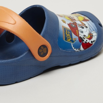 PAW Patrol Printed Clogs with Backstrap