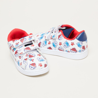 PAW Patrol Printed Sneakers with Hook and Loop Closure