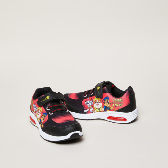 PAW Patrol Printed Sneakers with Hook and Loop Strap