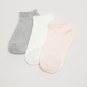 Ankle Length Socks with Texture