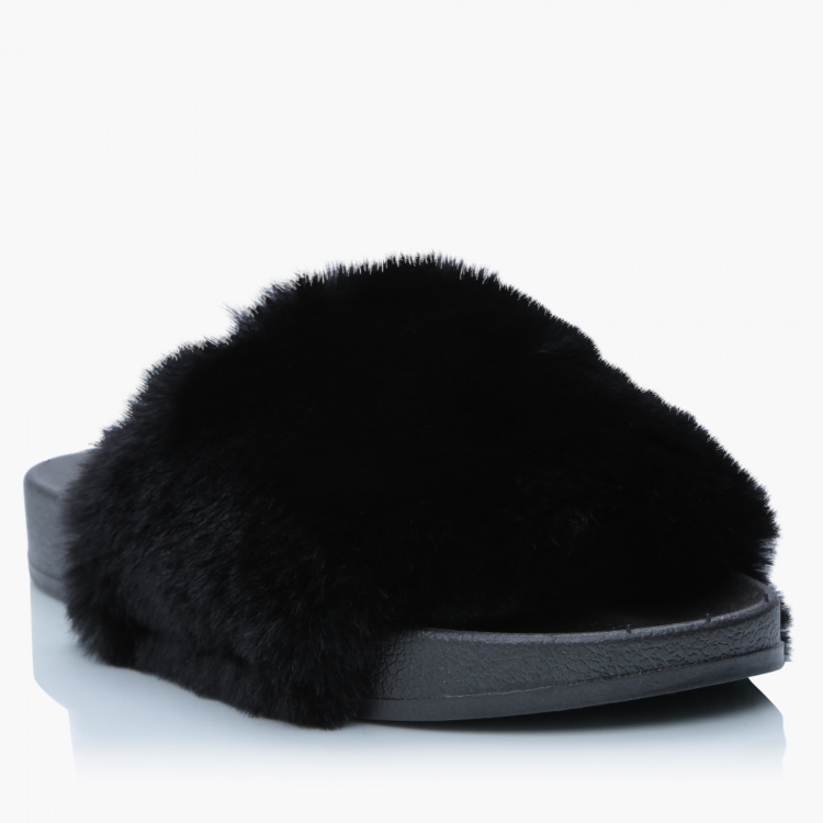 Missy Bedroom Slippers with Plush Detail