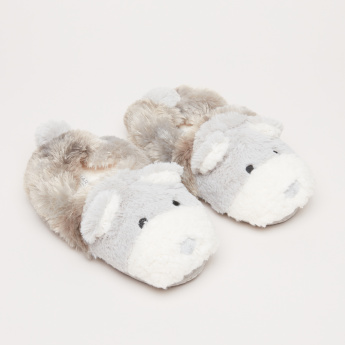 Plush Bedroom Shoes