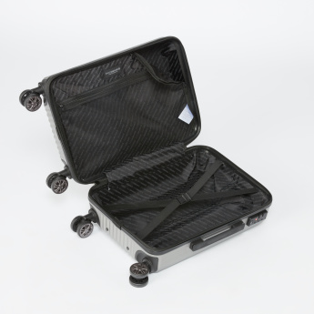 SWISSBRAND Hard Case Travelling Bag with Retractable Handle