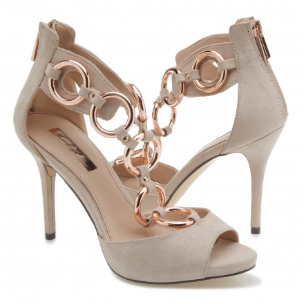 Celeste Ring Embellished High Heels