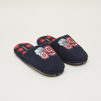 De Fonseca Embroidered Detail Slides