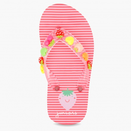 Juniors Embellished Slippers