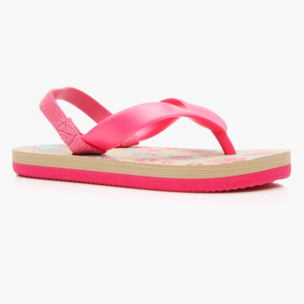 Juniors Sling Back Slippers