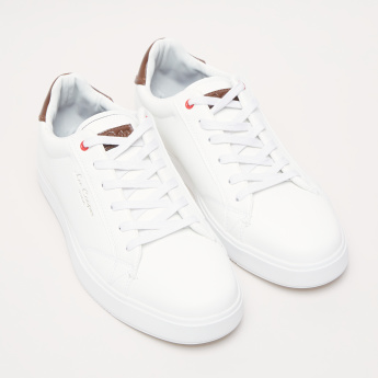 Lee Cooper Lace-Up Shoes with Stitch Detail Backstay
