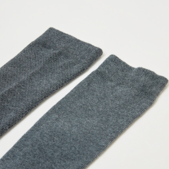 Duchini Textured Crew Length Socks