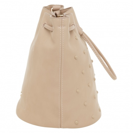 Missy Studded Bucket Bag