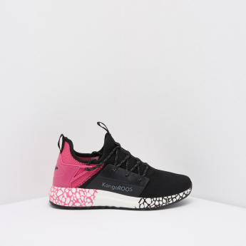 KangaROOS Women's Walking Shoes with Lace Up Closure