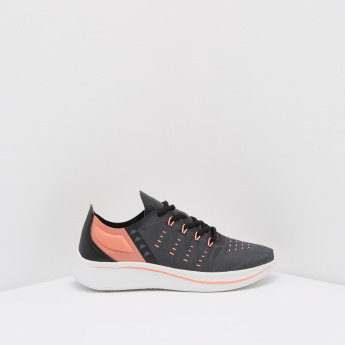 Kappa Women's Printed Running Shoes with Lace Up Closure