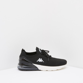 Kappa Sneakers with Lace-Up Closure
