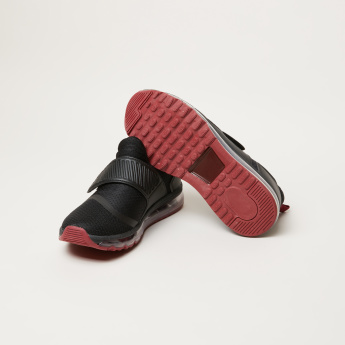 Kappa Walking Shoes with Hook and Loop Closure