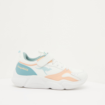 KangaROOS Girls' Sneakers with Hook and Loop Closure