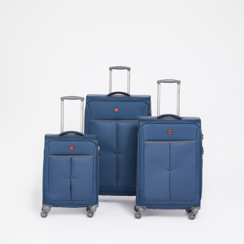SWISSBRAND 360 Spinner Trolley Bag with Soft Case